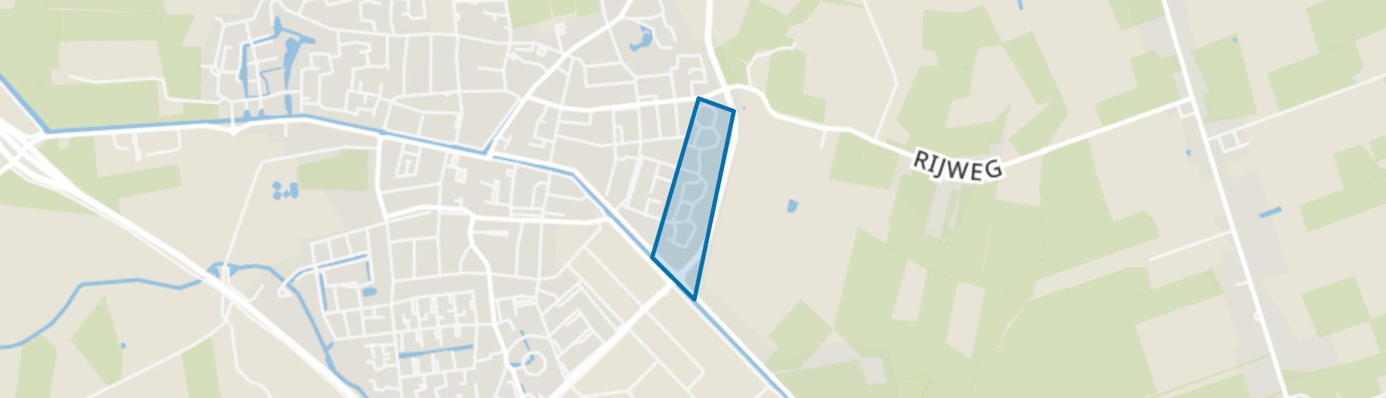 Oosterwolde-Schottelenburg, Oosterwolde (FR) map
