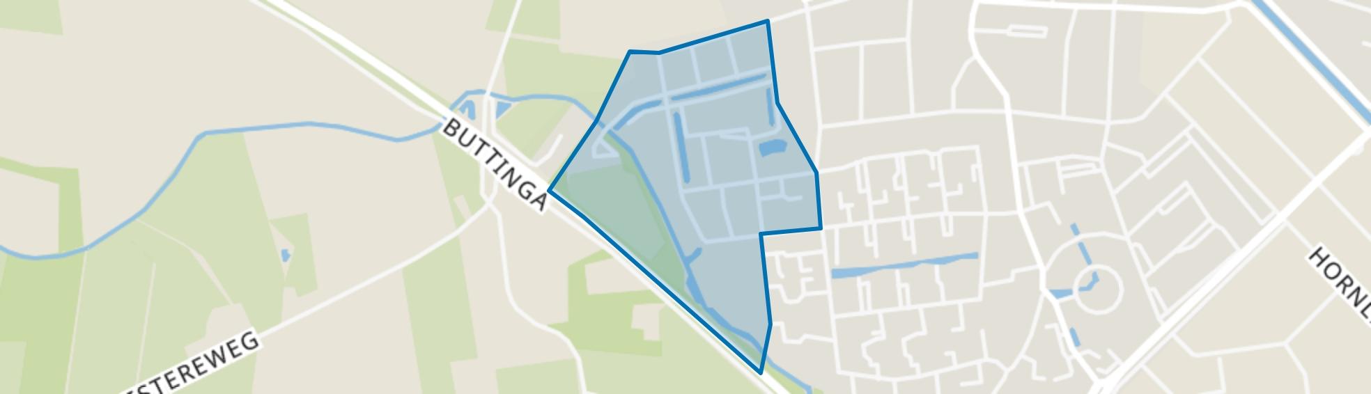 Oosterwolde-Slatten, Oosterwolde (FR) map