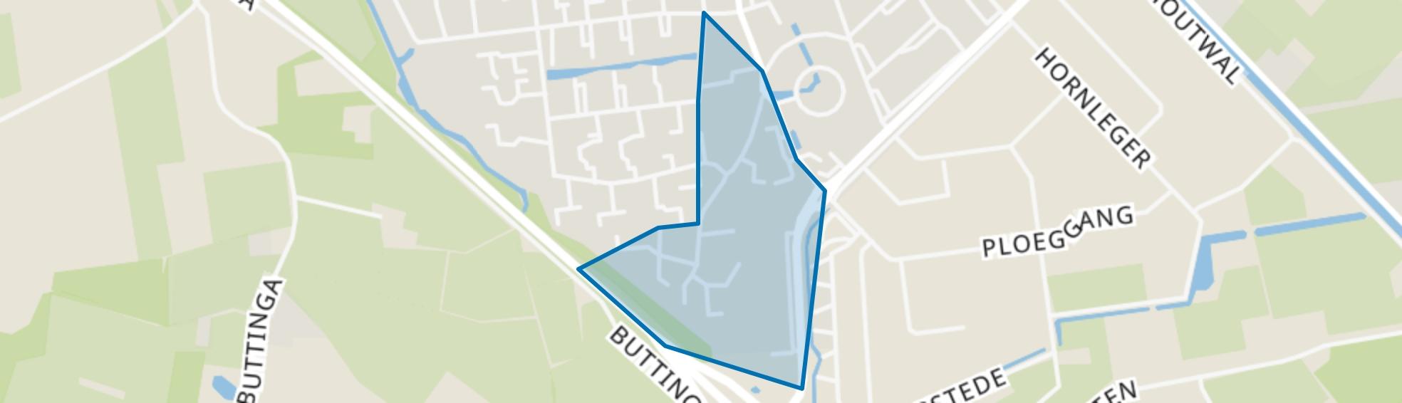 Oosterwolde-Snellingerdijk, Oosterwolde (FR) map