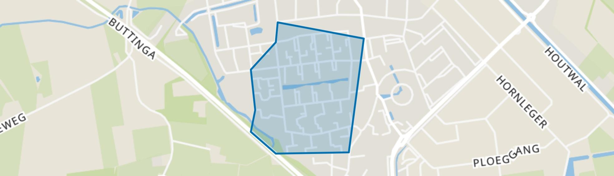 Oosterwolde-Zuid, Oosterwolde (FR) map
