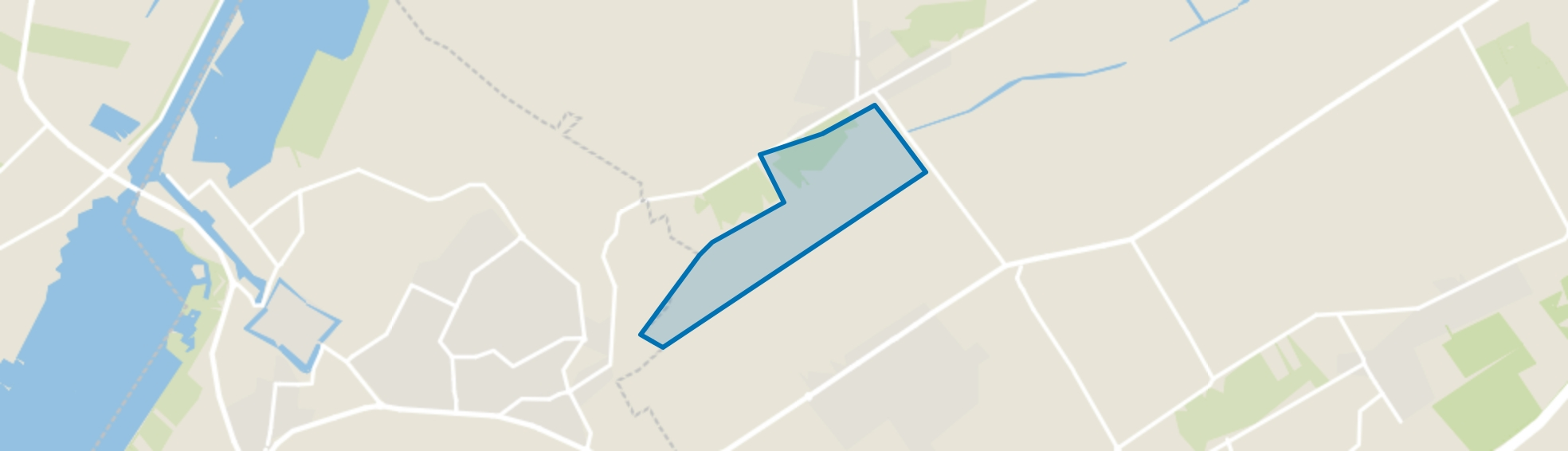 Eekt, Oosterwolde (GE) map