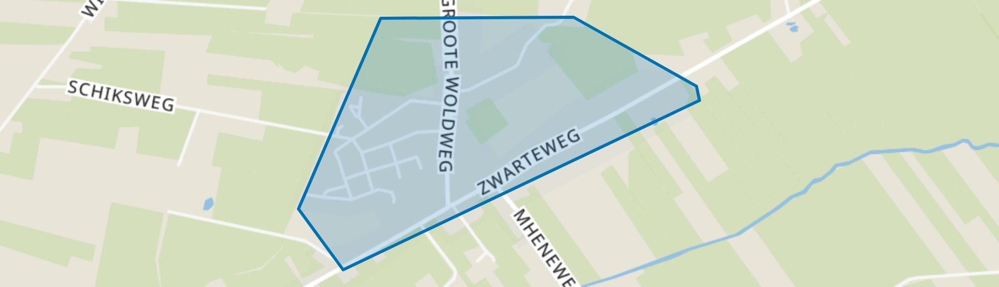 Oosterwolde, Oosterwolde (GE) map