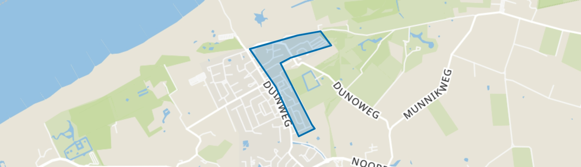 Duno, Oostkapelle map