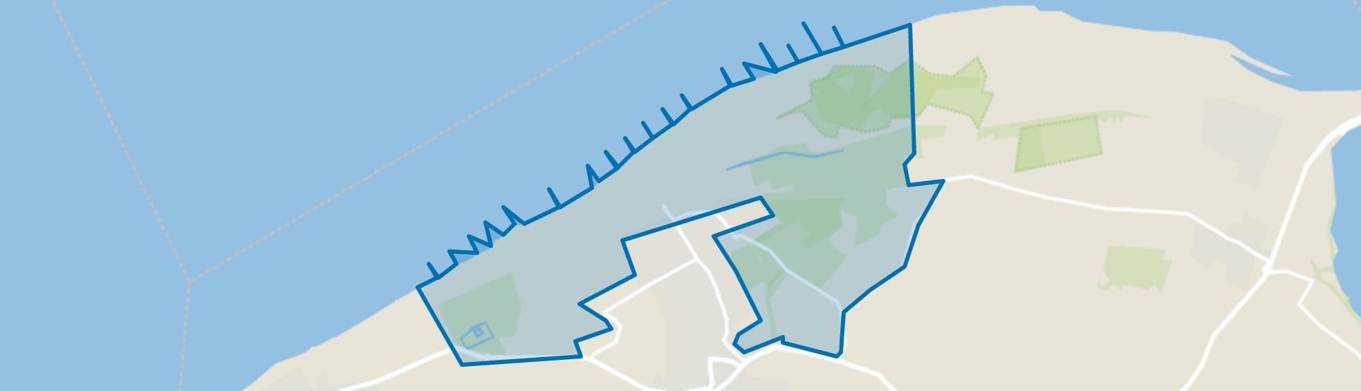 Verspreide huizen in het Noorden, Oostkapelle map