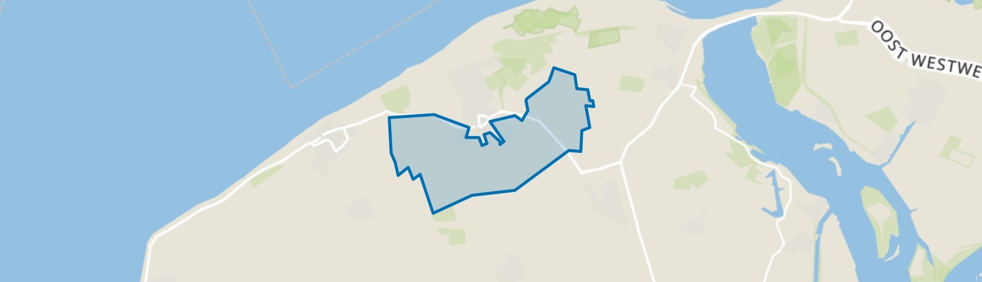 Verspreide huizen in het Zuiden, Oostkapelle map