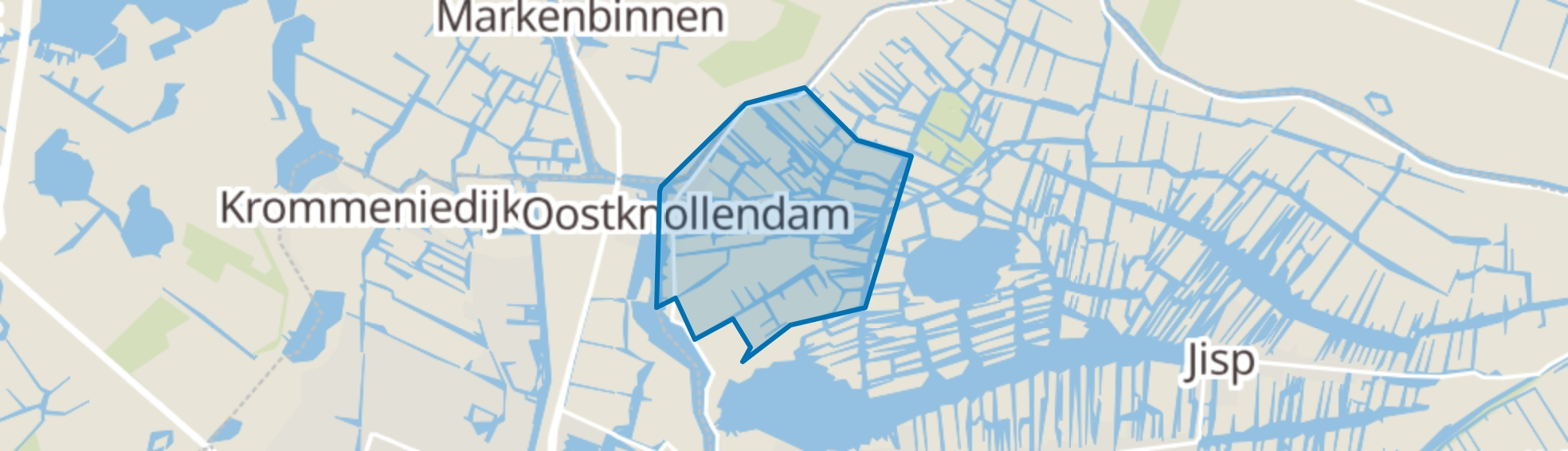 Oostknollendam map