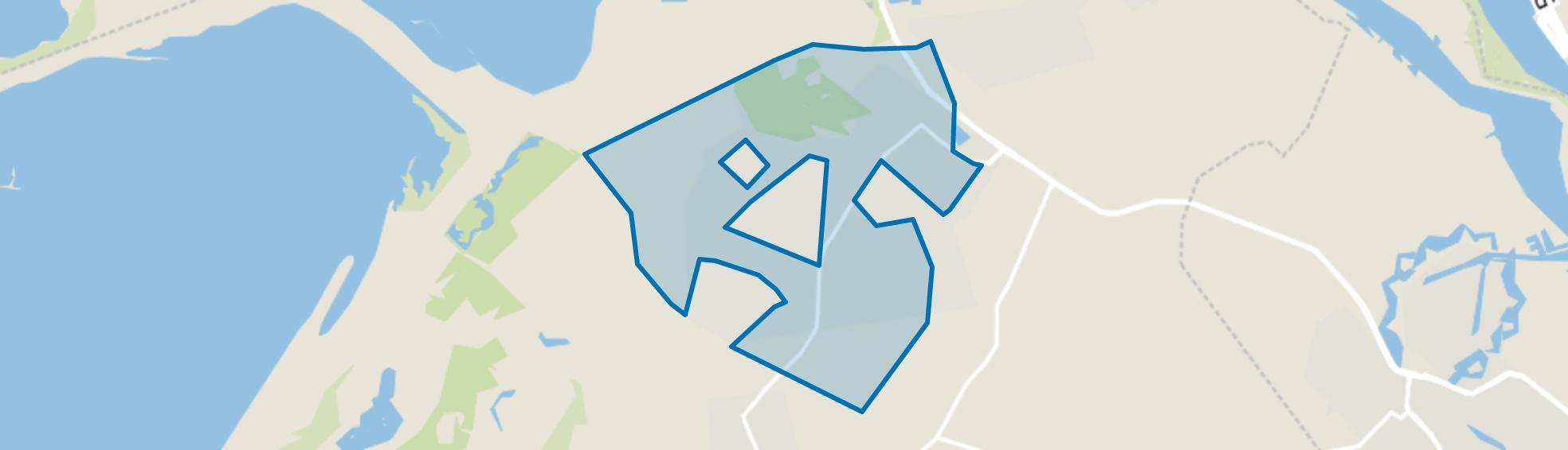 Oostvoorne, Oostvoorne map