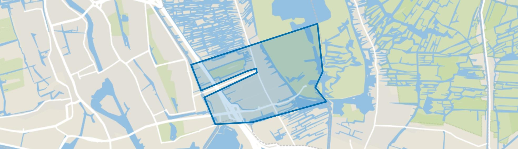 Kerkbuurt, Oostzaan map