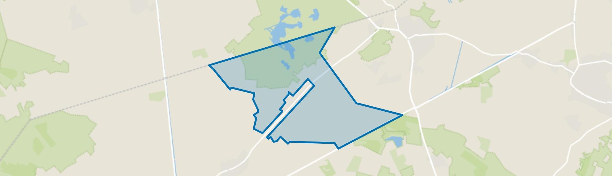 Moostdijk-Kruisvennendijk, Ospel map