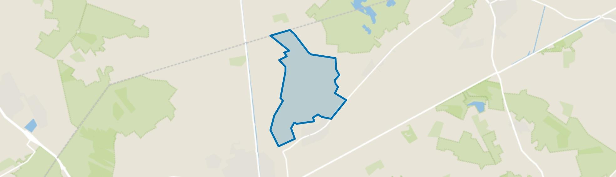 Nieuwstraat-Horick-Kampersweg, Ospel map
