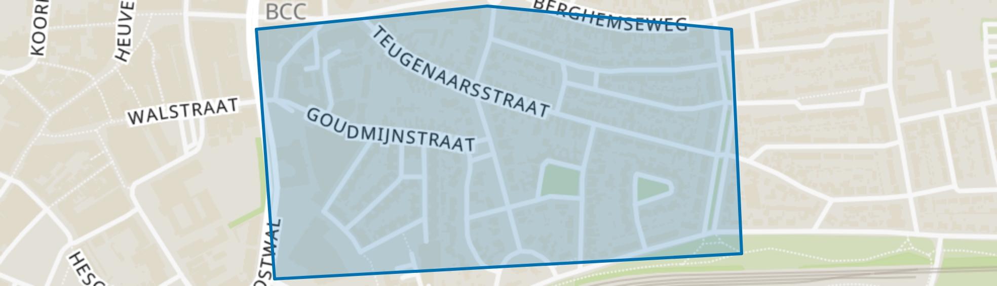 Berghemseweg-Zuid, Oss map