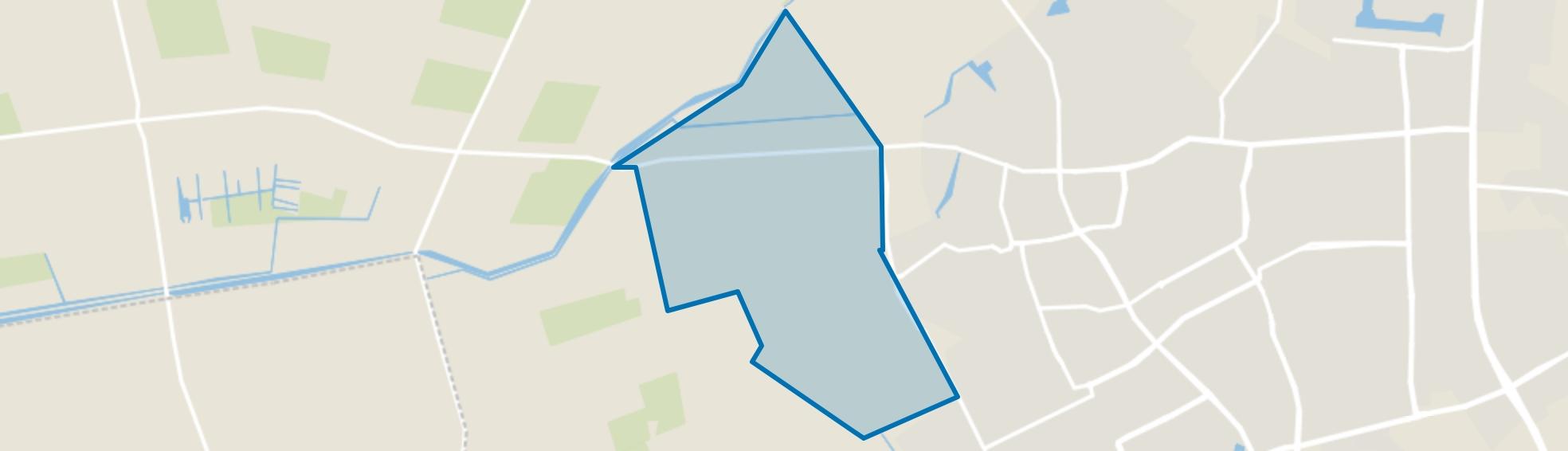 Buitengebied-West, Oss map