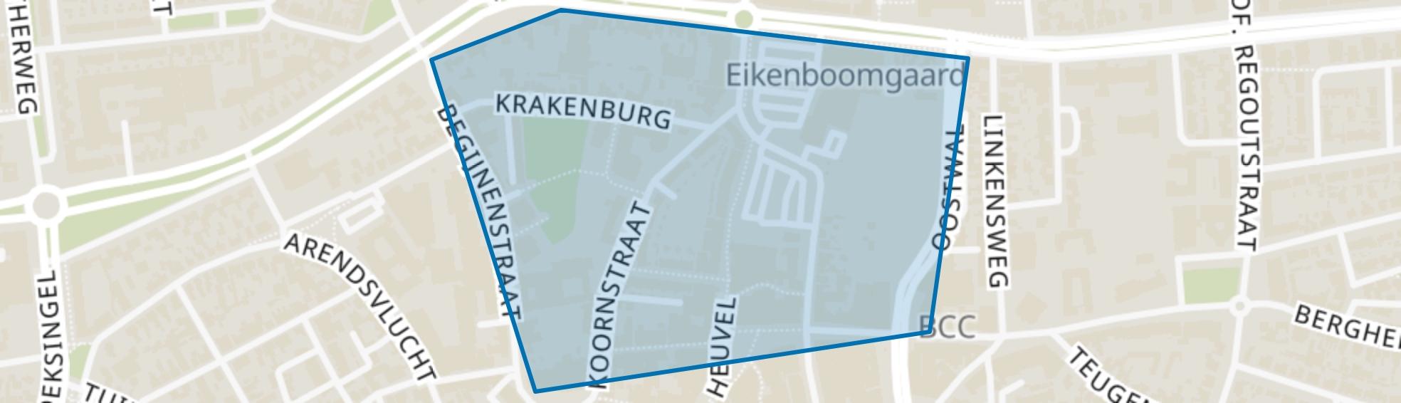 Centrum-Noord, Oss map