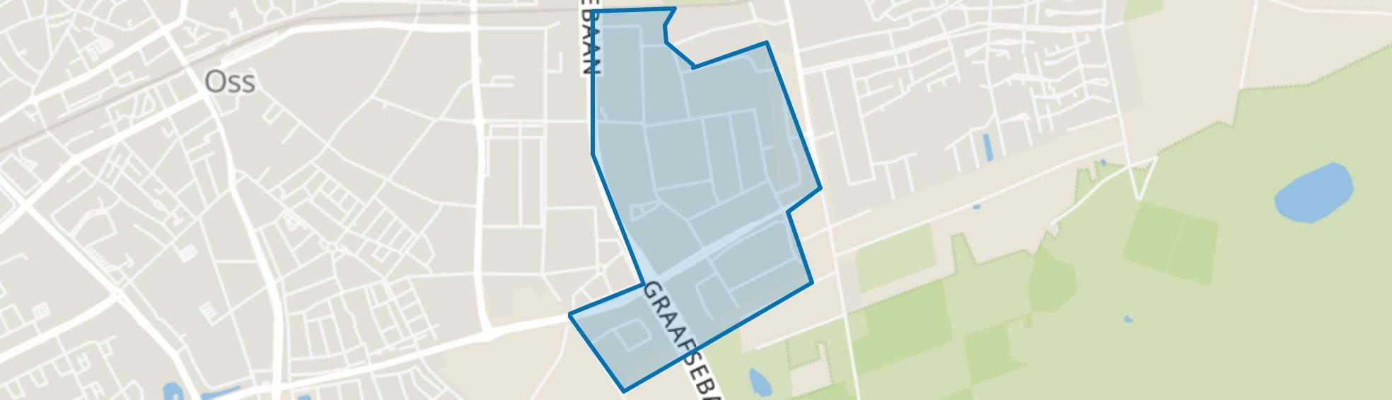 Danenhoef, Oss map