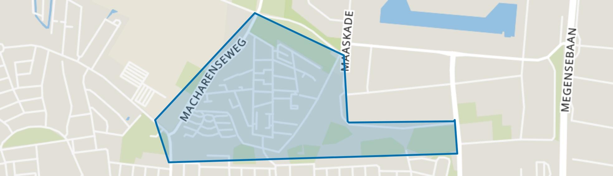 De Horzak, Oss map