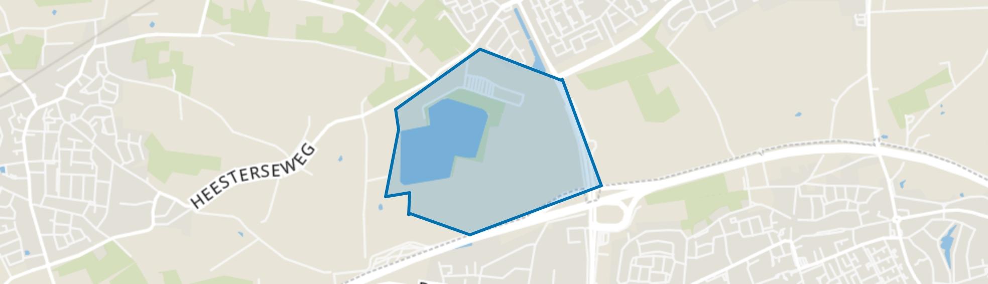 Geffense Bosjes, Oss map