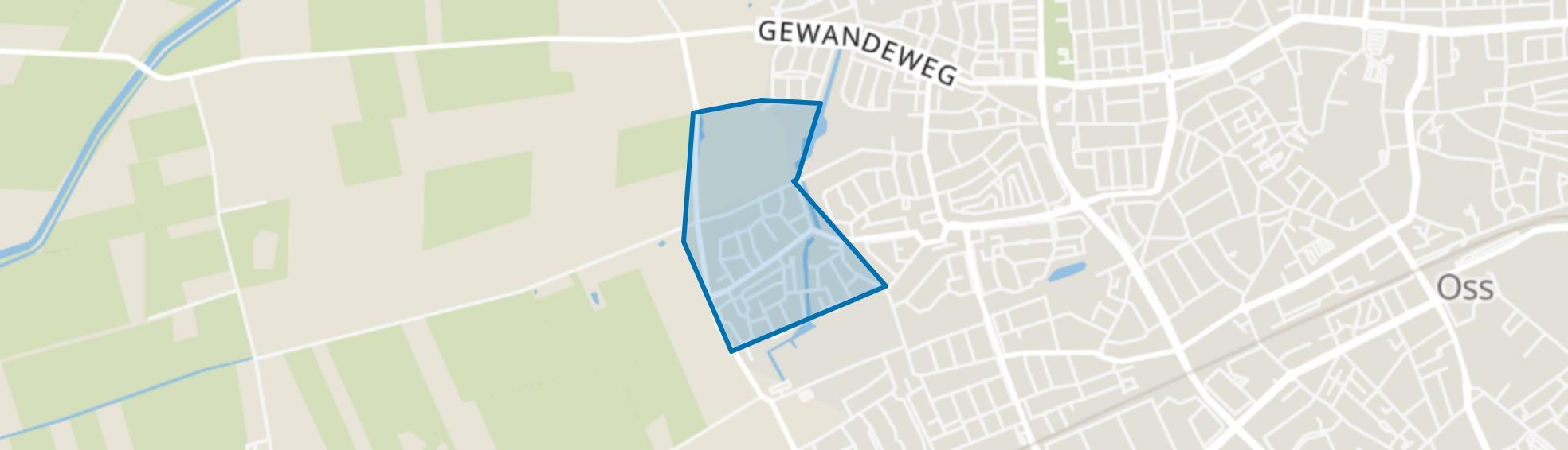Hazenkamp, Oss map