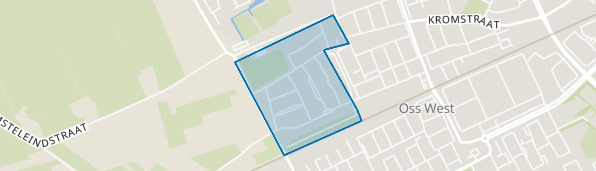 Heihoek, Oss map