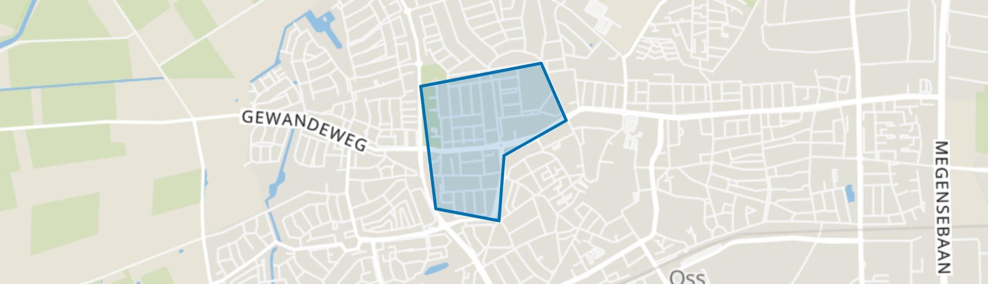 Hertogenbuurt, Oss map