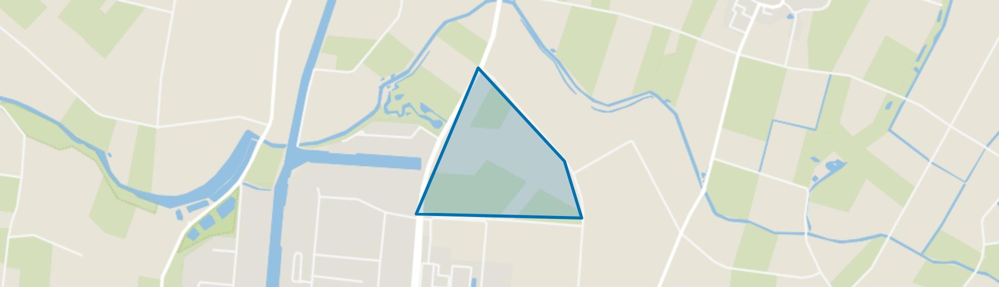 Hooimeer, Oss map