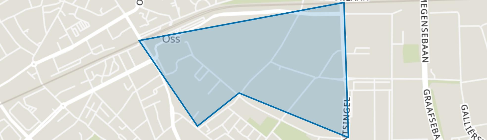 Moleneind, Oss map