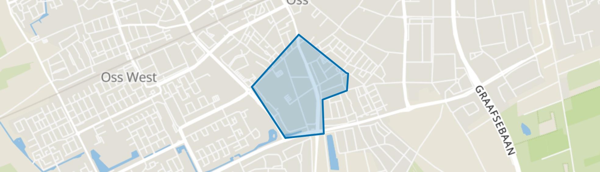 Oranjebuurt I en Ruivert, Oss map
