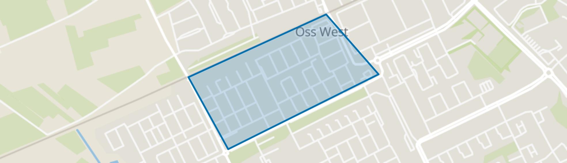 Staatsliedenbuurt, Oss map