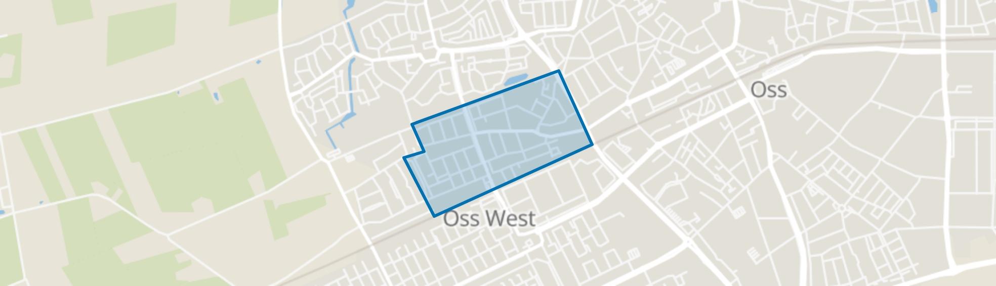 Vlashoek, Oss map