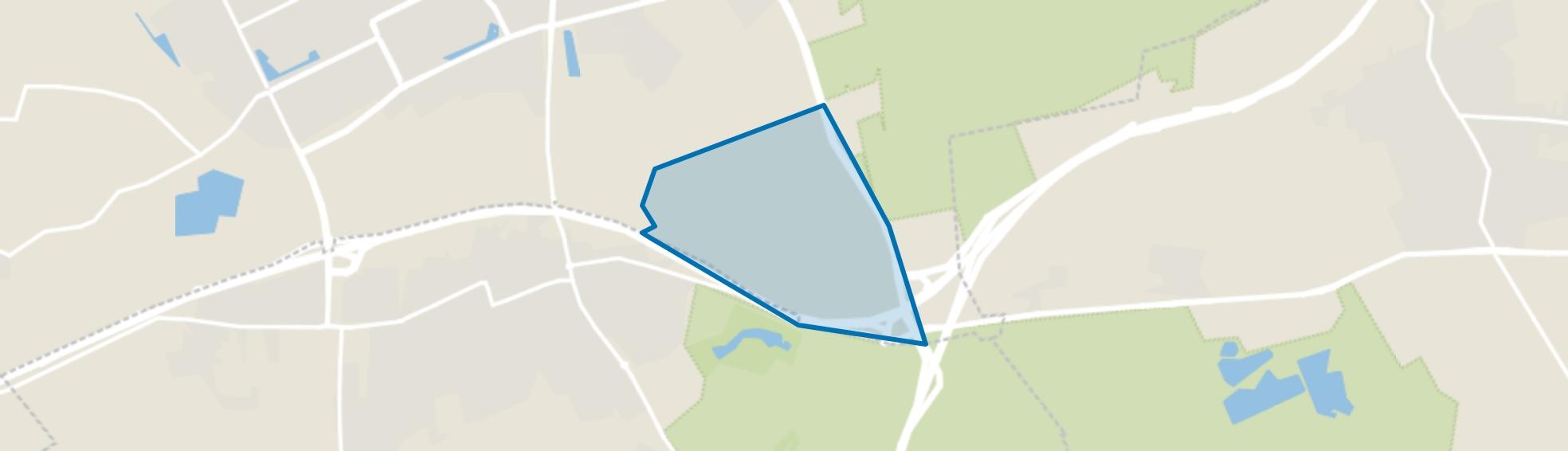 Vorstengraf, Oss map