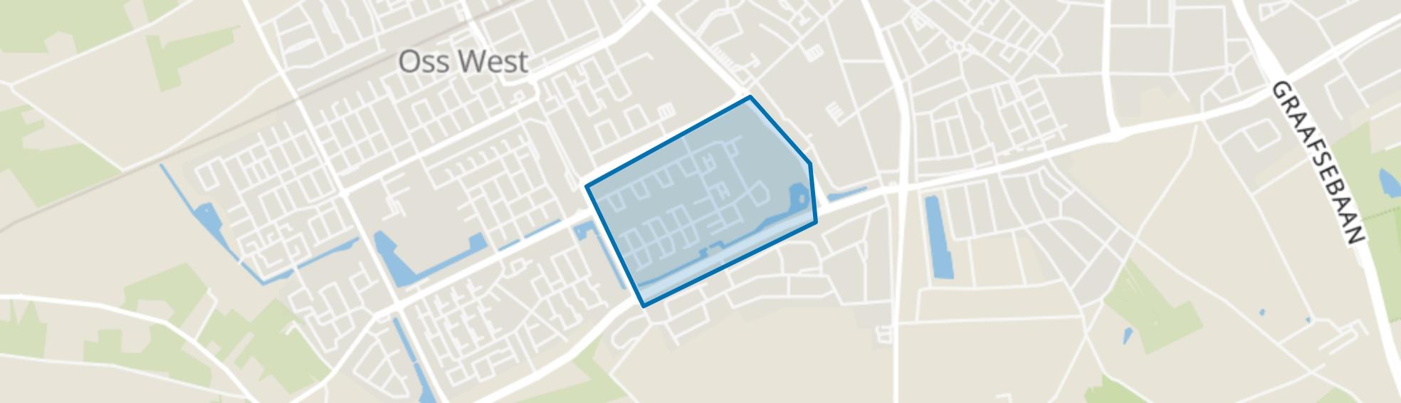 Wagenaarstraat en omgeving, Oss map