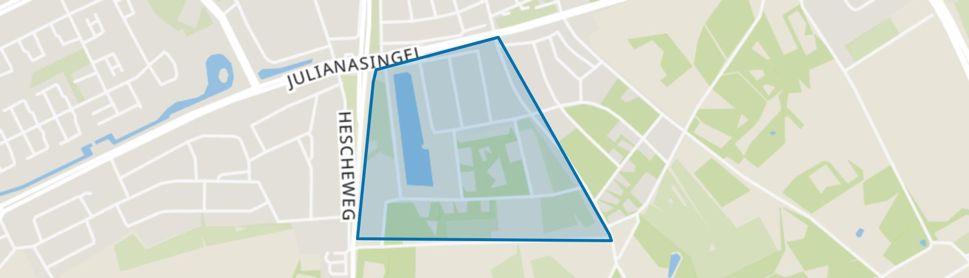 Willibrordusweg-West, Oss map