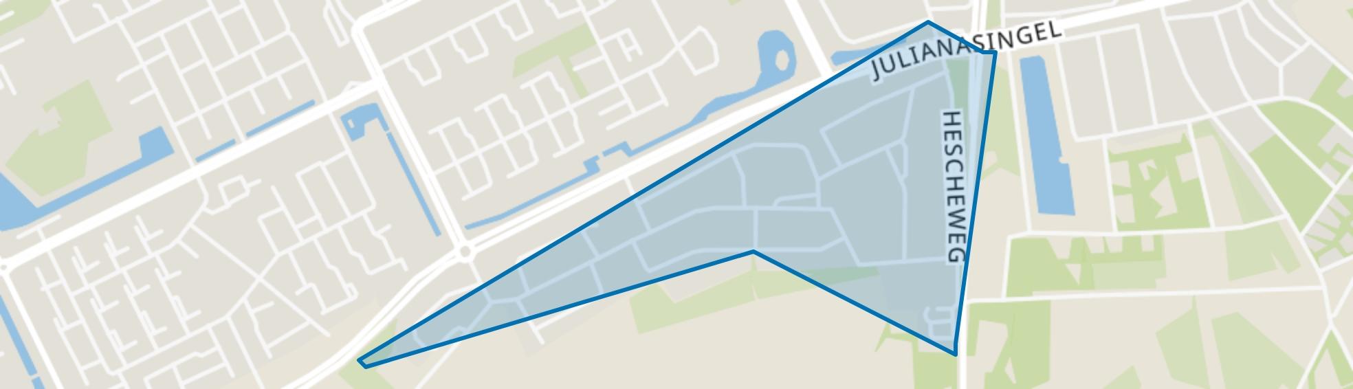 Witte Hoef, Oss map