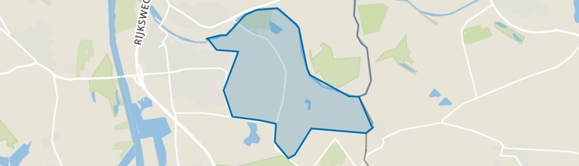Looierheide, Ottersum map