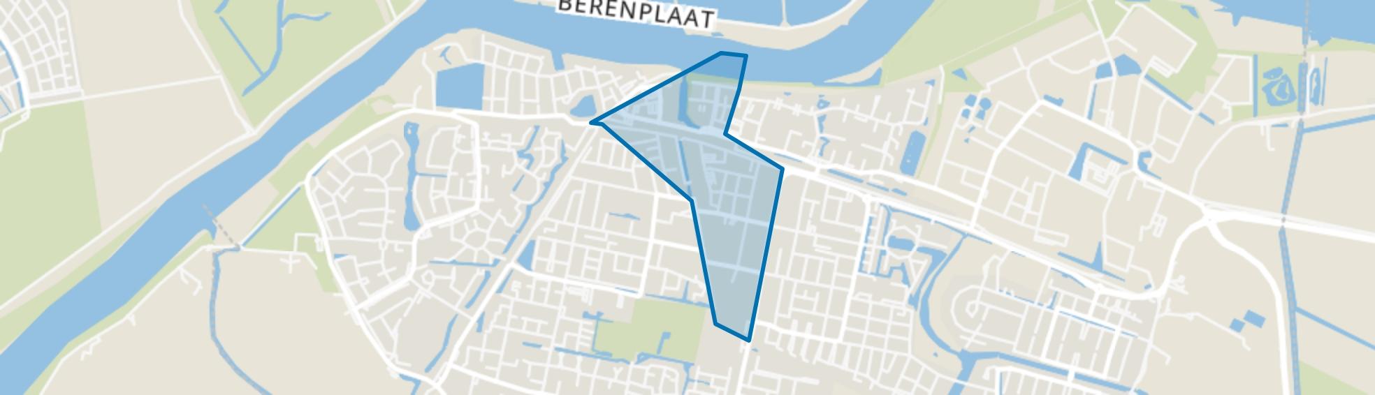 Oud-Beijerland Centrum, Oud-Beijerland map