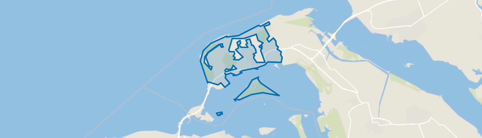 Ouddorp buitengebied, Ouddorp map