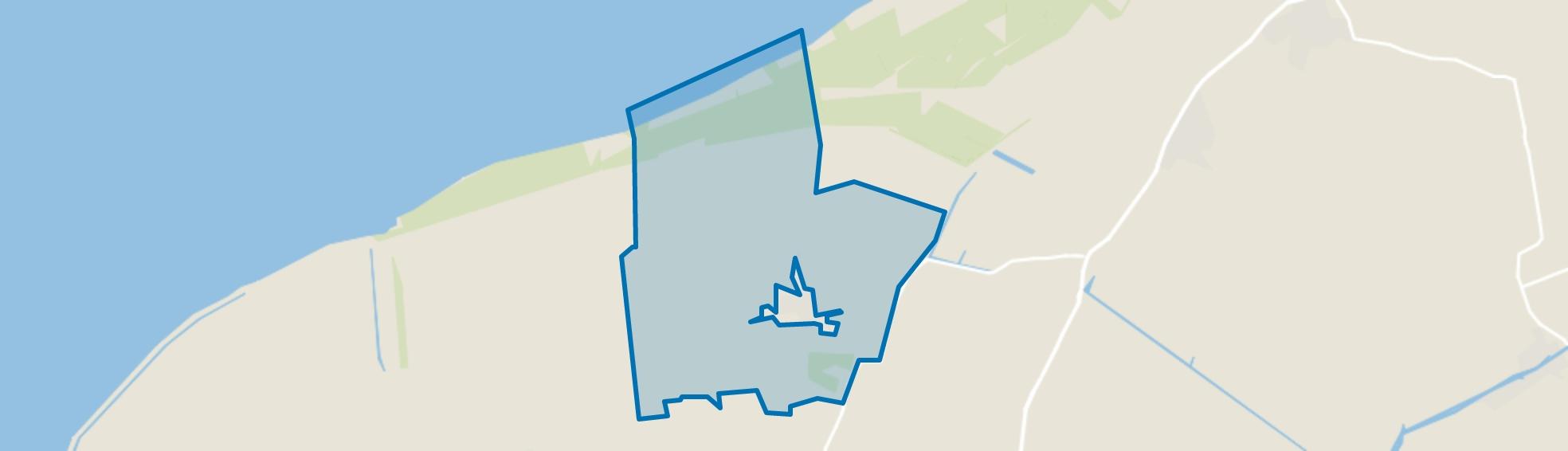 Buitengebied Oudebildtzijl, Oudebildtzijl map
