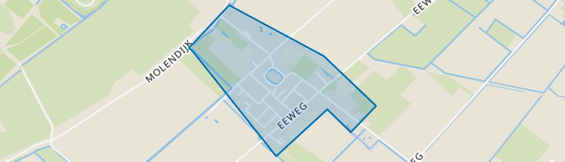 Kern Oudenhoorn, Oudenhoorn map