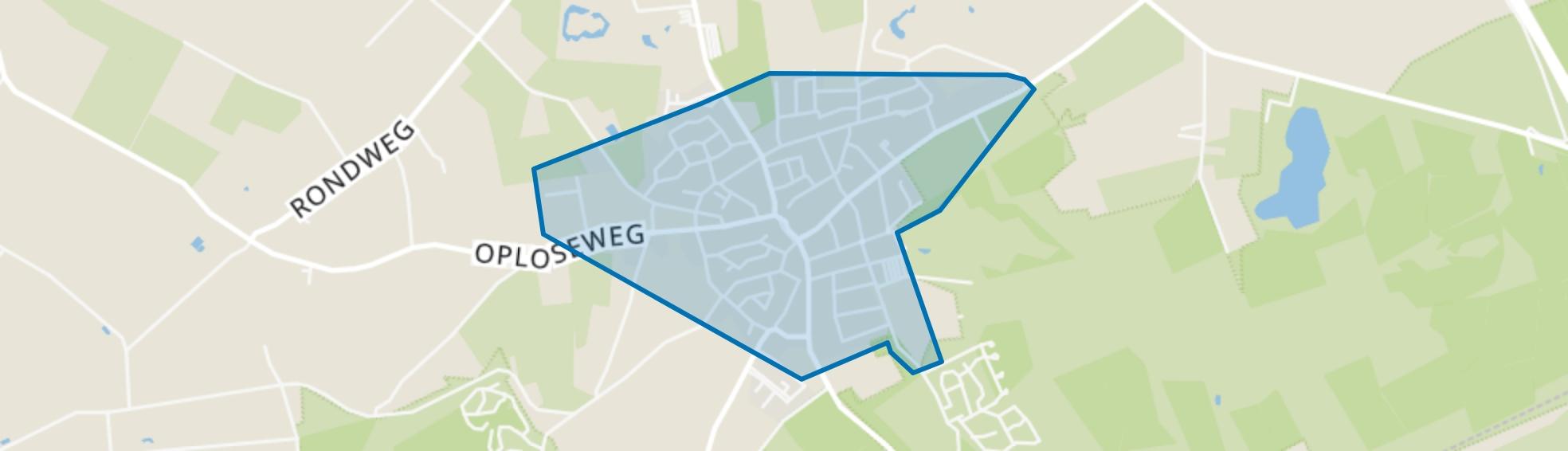 Overloon Centrum, Overloon map