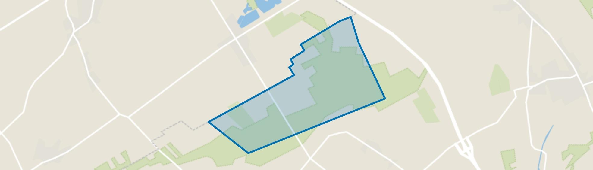 Verspreide huizen Stevensbeek, Overloon map