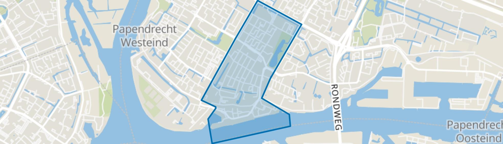 Kraaihoek, Papendrecht map