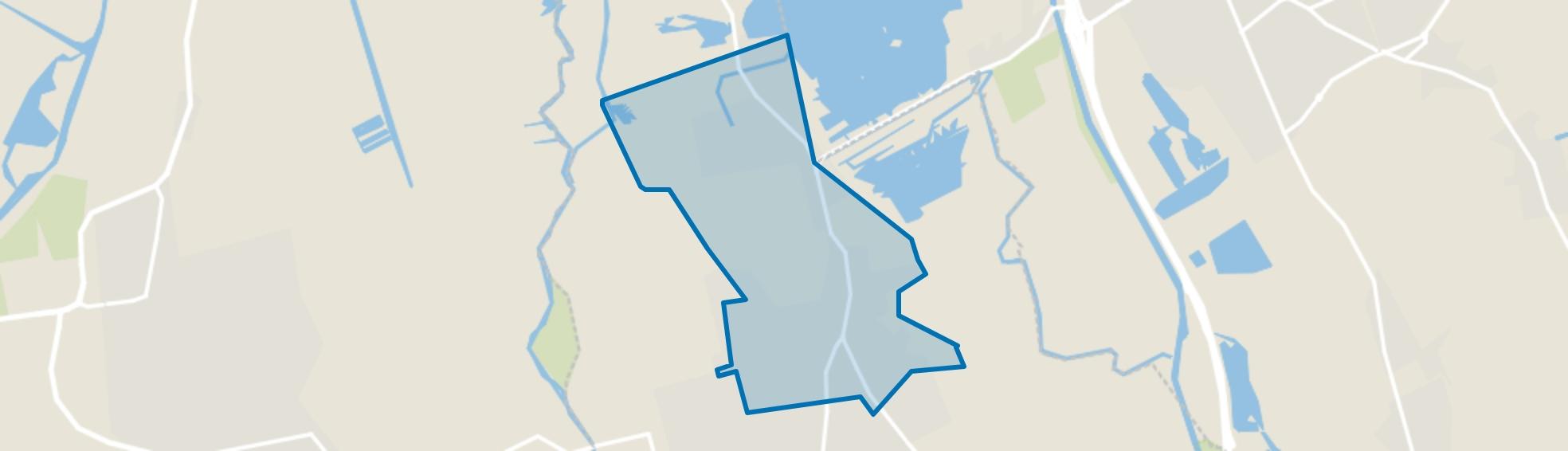Paterswolde, Paterswolde map