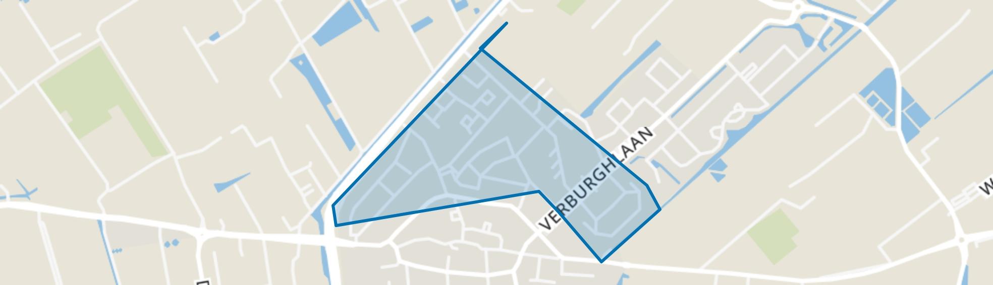 Poeldijk Noord, Poeldijk map