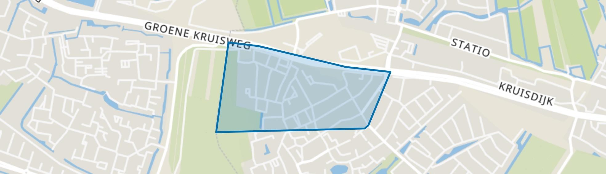 Beatrixstraat, Poortugaal map