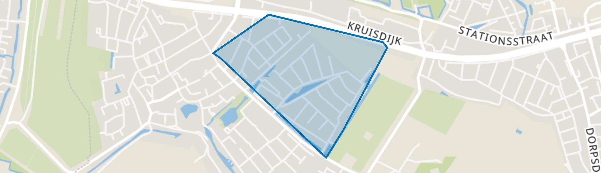 Landweg, Poortugaal map