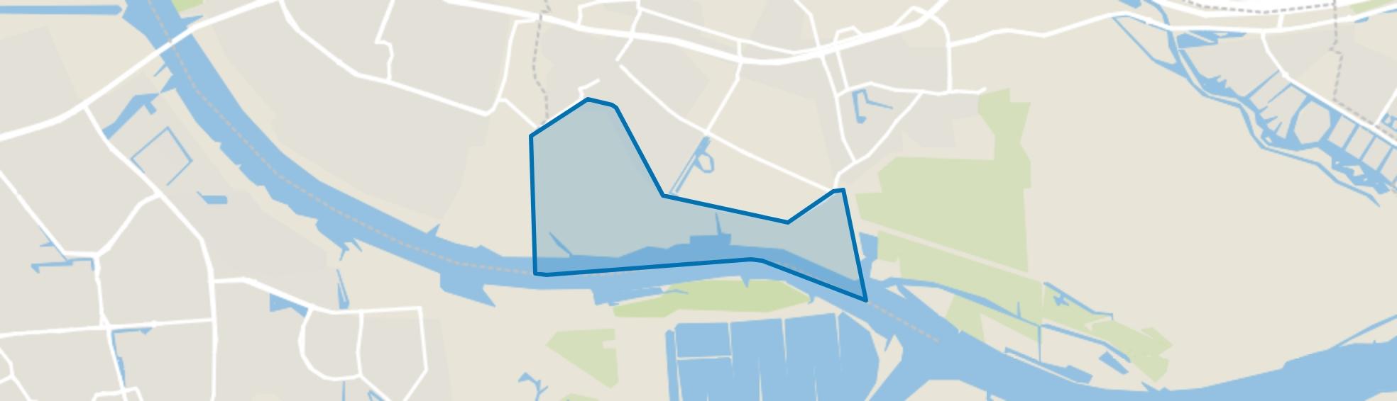 Polder Albrandswaard, Poortugaal map
