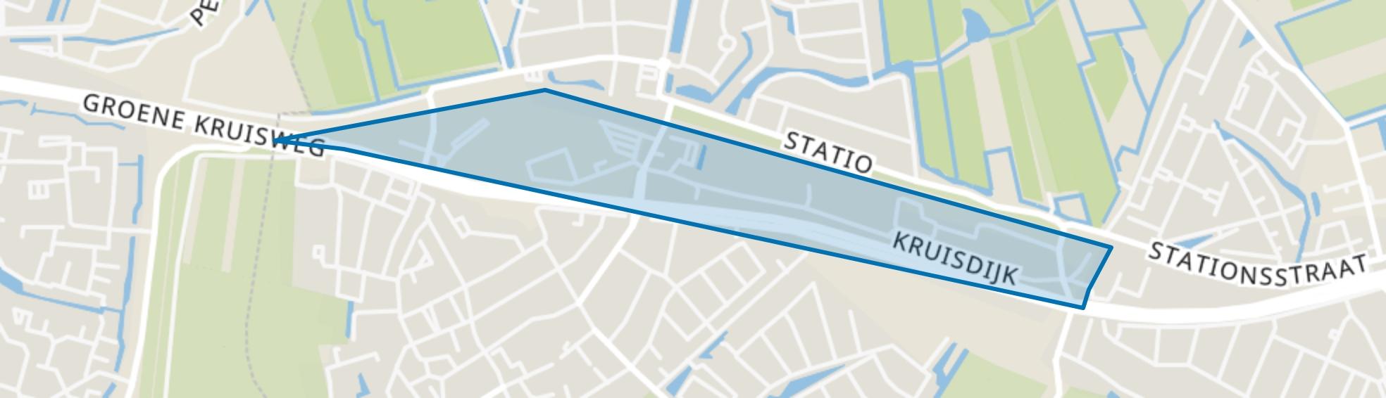 Zwaardijk-Kruisdijk, Poortugaal map