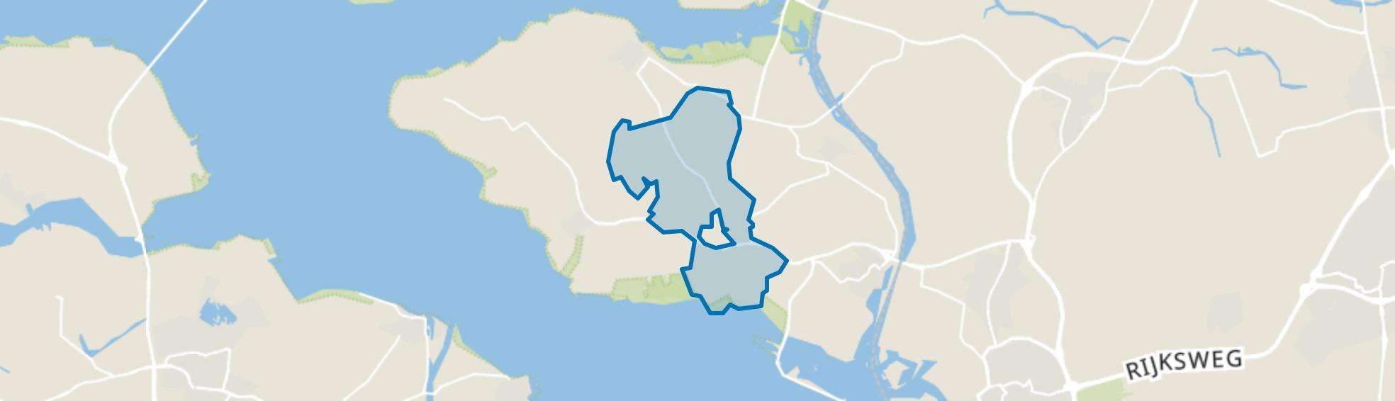 Verspreide huizen Poortvliet, Poortvliet map
