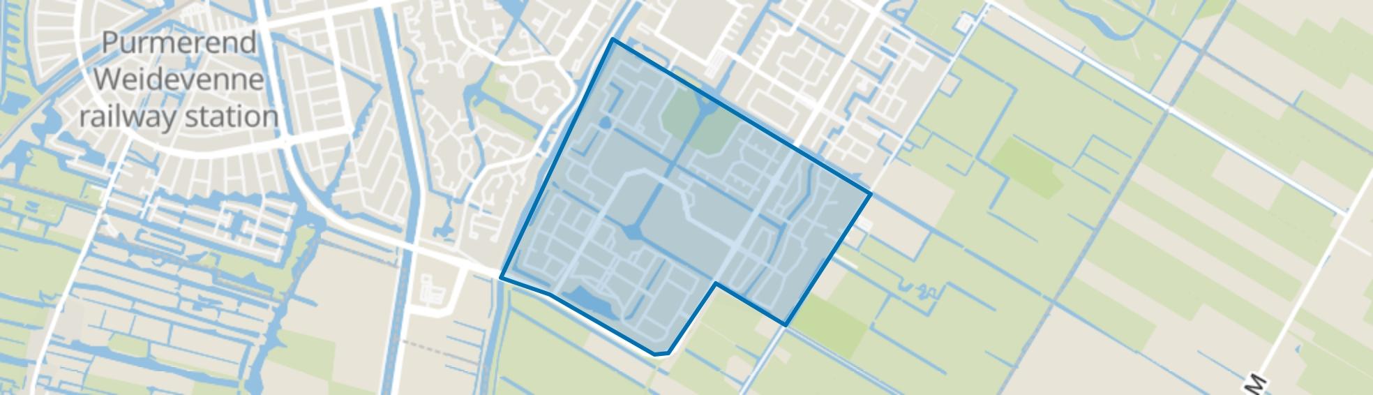 Purmer-Zuid/Zuid, Purmerend map