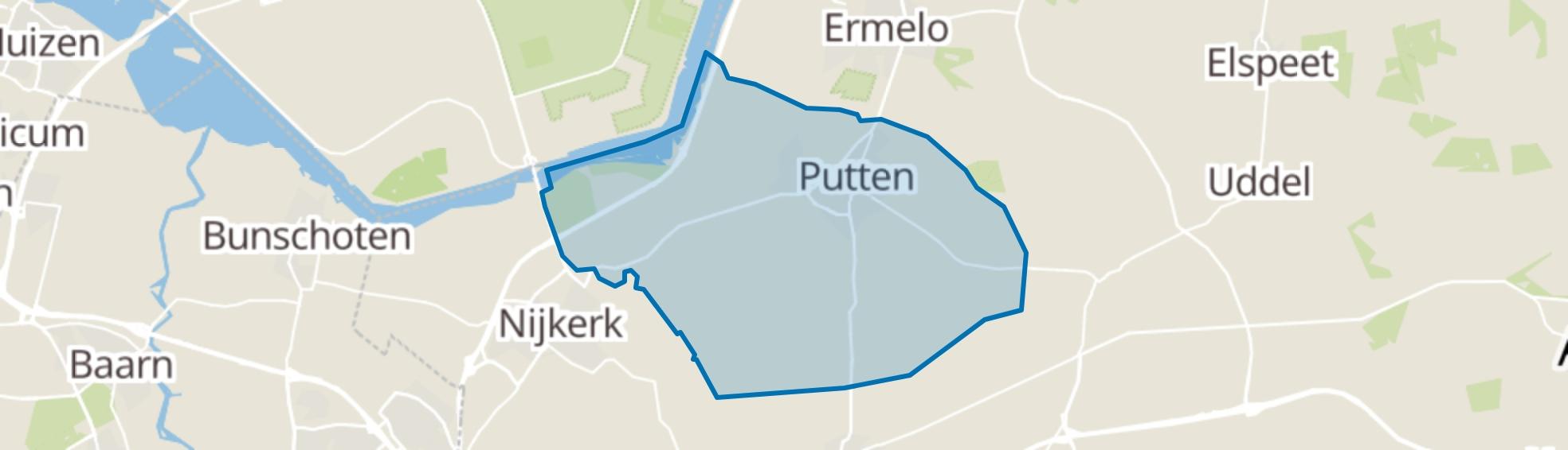 Putten map