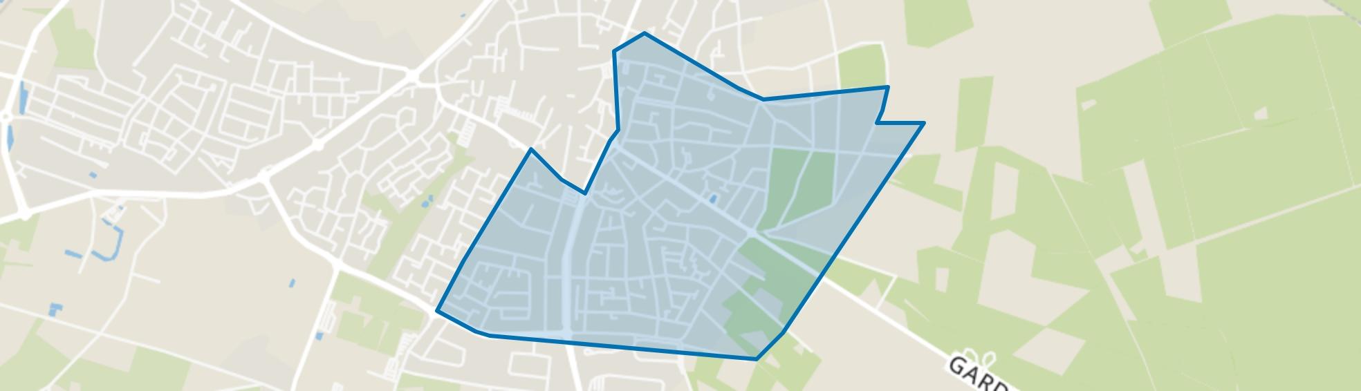 Putten-Zuid-Oost, Putten map
